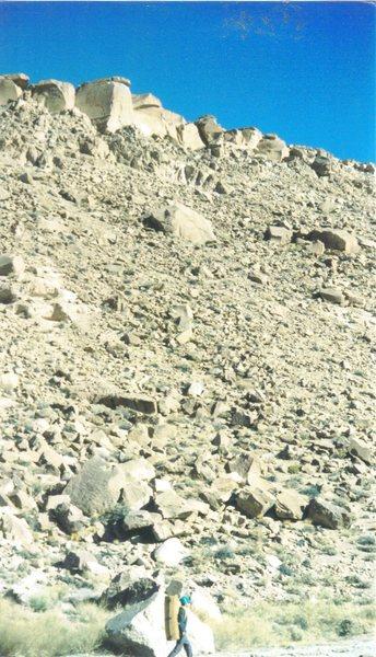 Rock Climbing Photo: Buttermilks Bouldering Trip