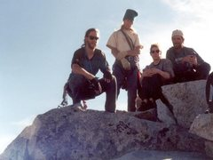 Rock Climbing Photo: Organ Mountain Sugarloaf Peak Summit Team