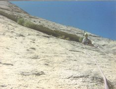 Rock Climbing Photo: Dr. Waldman belays the second on the classic Sugar...