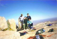 Rock Climbing Photo: Organ Mountain Range - San Augustine Peak Summit T...