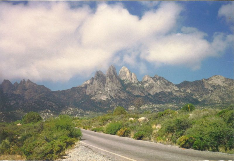 Organ Mountain Range - Aguirre Springs Park