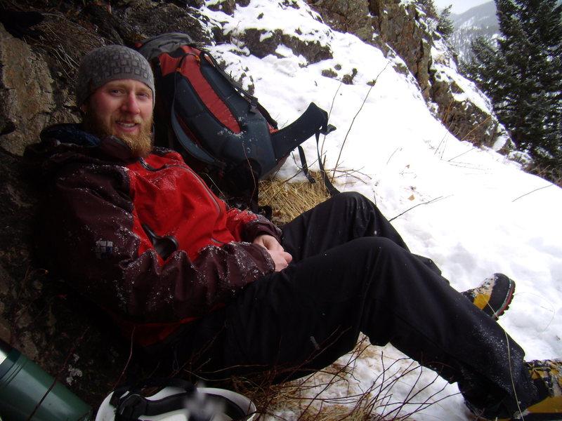 John Klooster - Jaws Ice Fall RMNP - 12-30-2010