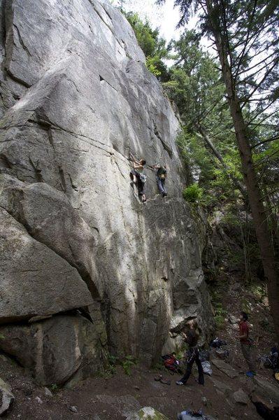 Rock Climbing Photo: Geneside and Genesis