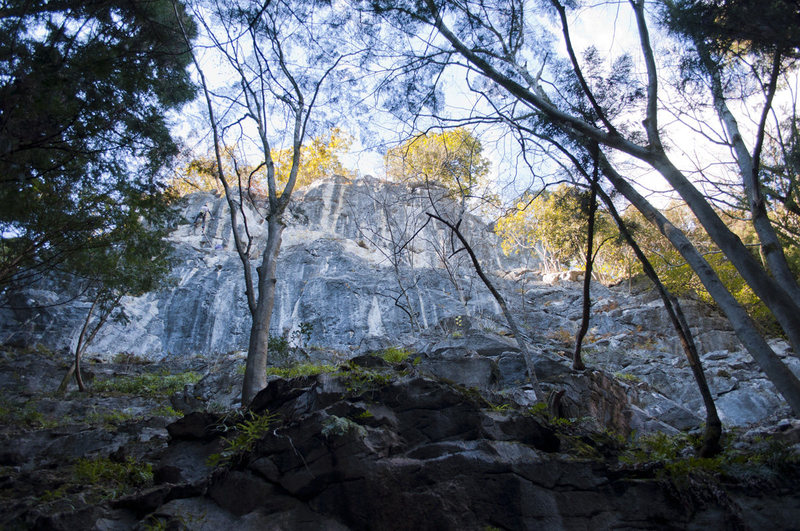Rock Climbing Photo: This is the main area that is first seen from the ...