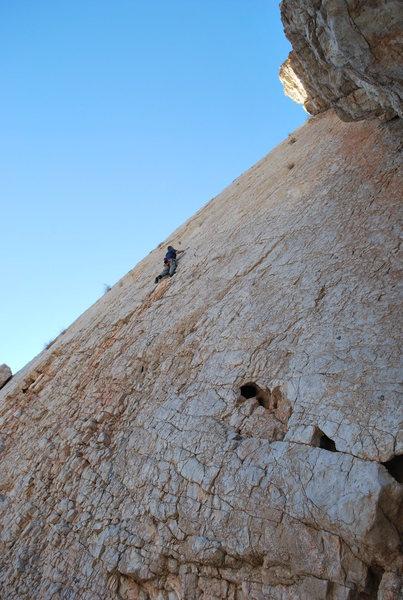 Climbing at Discworld.