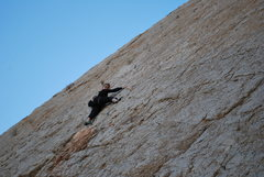 Rock Climbing Photo: Having fun on the wall.