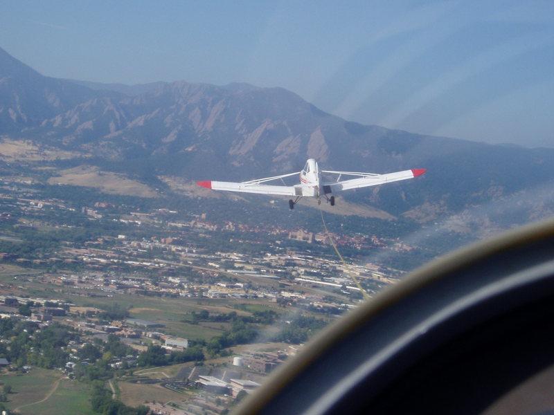 Aerial attack.