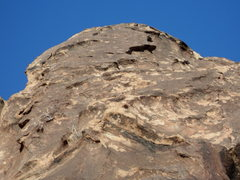 Rock Climbing Photo: The high quality jug face at the top of Last Tempt...