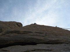 Nice climb Eddie!