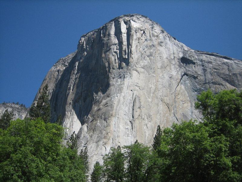 Rock Climbing Photo: Worlds best boulder problem.