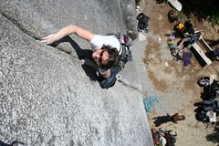 Rock Climbing Photo: finger locking
