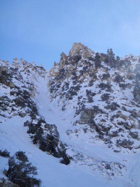 Rock Climbing Photo: Lightning Couloir