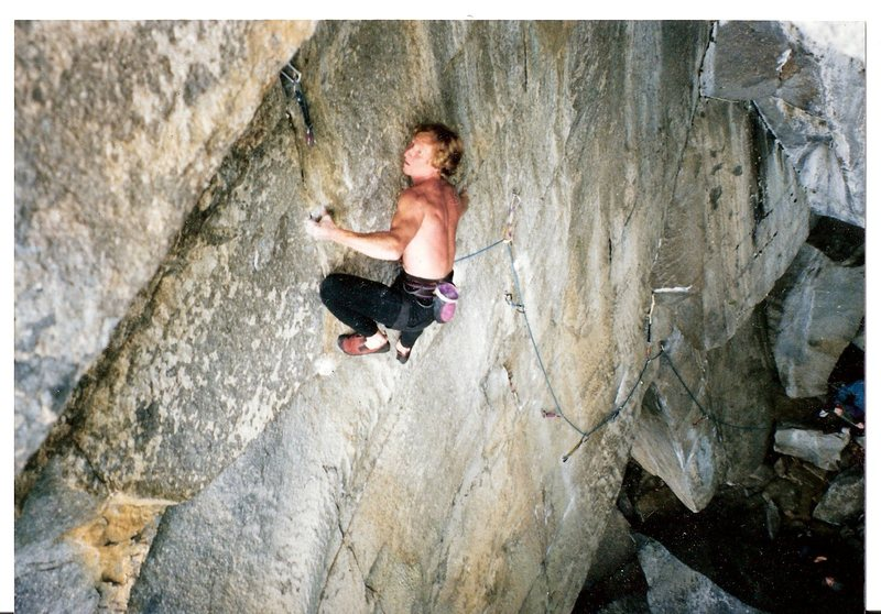Rock Climbing Photo: vanishing point