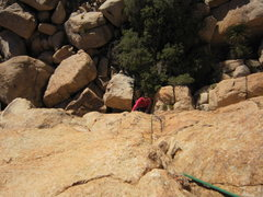 Rock Climbing Photo: Joseffa Meir follows 'Nobody's Right Mind' (5.9) o...