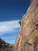 Rock Climbing Photo: Erin Brassil-Haas follows Jason Haas on Captain Kr...