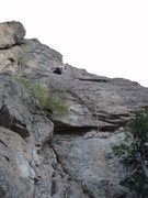Rock Climbing Photo: Looking up the route....
