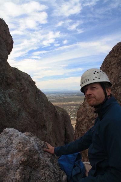 Rock Climbing Photo: hmmm...