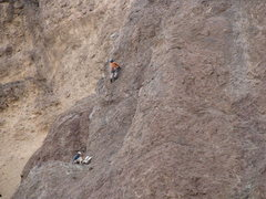 Rock Climbing Photo: Heading up pitch 2 of the tower:) compliments of m...