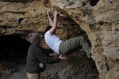 Rock Climbing Photo: nah