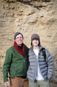 Rock Climbing Photo: Me and Photographer (grandfather)