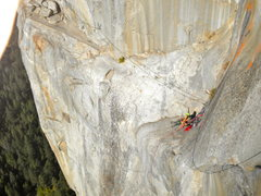 Rock Climbing Photo: West Face of Leaning Tower in Yosemite National Pa...