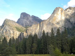 Rock Climbing Photo: Leaning Tower, West Face Yosemite National Park