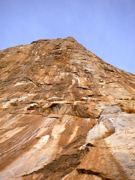 Rock Climbing Photo: Mendoza Canyon, AZ.  Elephant Dome.