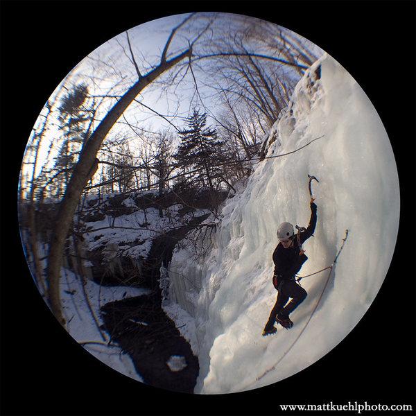 Rock Climbing Photo: Andy Hansen taking advantage of the great beginnin...