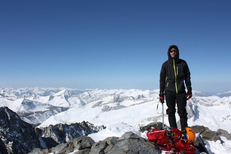 Split Mtn summit