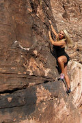 Rock Climbing Photo: Jona Marie Price at the Kraft Boulders. Photo by B...