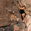 Jona Marie Price at the Kraft Boulders.<br> Photo by Blitzo.