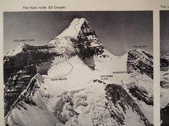 Rock Climbing Photo: Ed Cooper's Photo Canadian Alpine Journal, 1973  C...