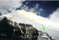 Rock Climbing Photo: Schwartz Ledges Photographer Unknown  Yellow dashe...