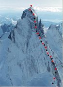 Rock Climbing Photo: Plumb-Stutzman Route Northeast Buttress, Devils Th...