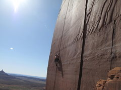 Rock Climbing Photo: jake going up ..