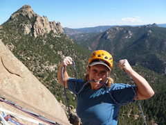 Rock Climbing Photo: Beware of this hard woman!