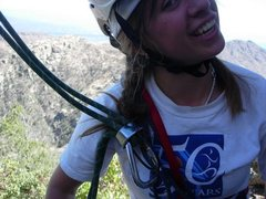 Rock Climbing Photo: i don't rap in braids anymore!