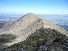 Rock Climbing Photo: Spread Eagle Peak from UN 13,524.