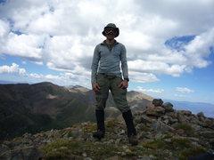 Rock Climbing Photo: Summit of Spread Eagle Peak.