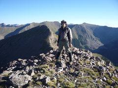 Rock Climbing Photo: On UN 13,060 looking toward UN 13,062.