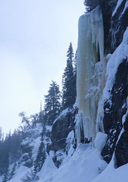 Rock Climbing Photo: Loch Vale Conditions 20110103