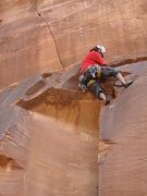 Rock Climbing Photo: face moves at the top