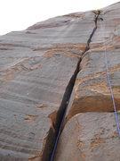 Rock Climbing Photo: mellow lead