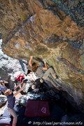Rock Climbing Photo: Danny Baker.  Photo credit: Axel Perschamnn.