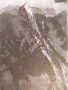 Rock Climbing Photo: Devils Thumb, North Face Photo by Maynard M Miller...