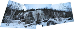Rock Climbing Photo: Lac Syvère, Trailhead reaching Baltique. 2010-12-...