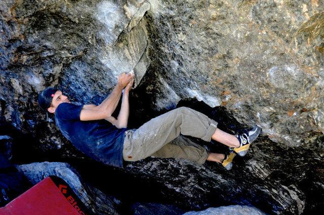 Rock Climbing Photo: Zac Rudy, Handicapps.