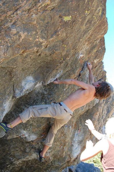 Rock Climbing Photo: Adam Keizer, Hanicapps.