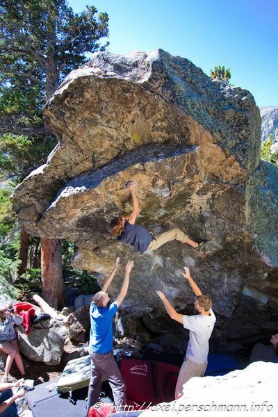 Rock Climbing Photo: Adam Keizer.  Photo credit: Axel Perschmann.