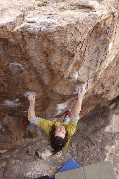 Rock Climbing Photo: Danny Baker  Photo Credit: Dan Moncur